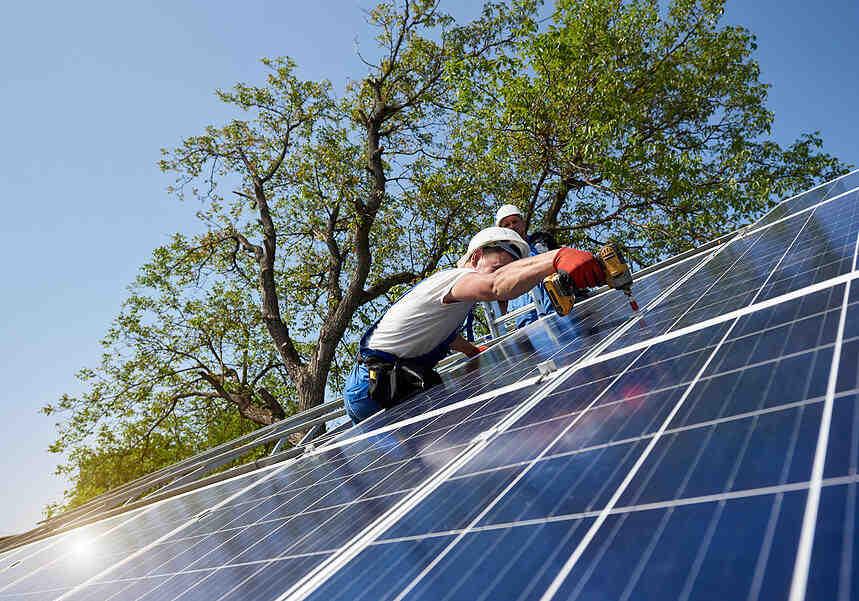 Is solar installation really free?