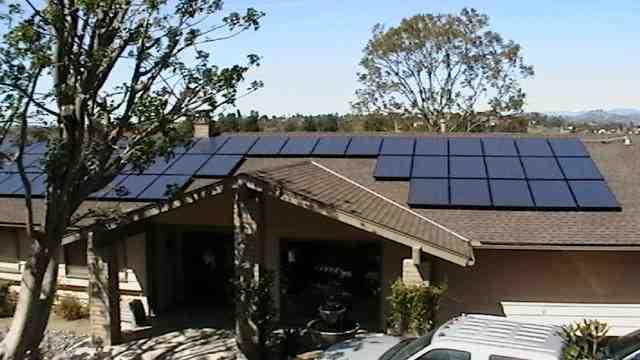 Can a solar system power a house?