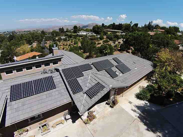 How much is Tesla Solar a month?