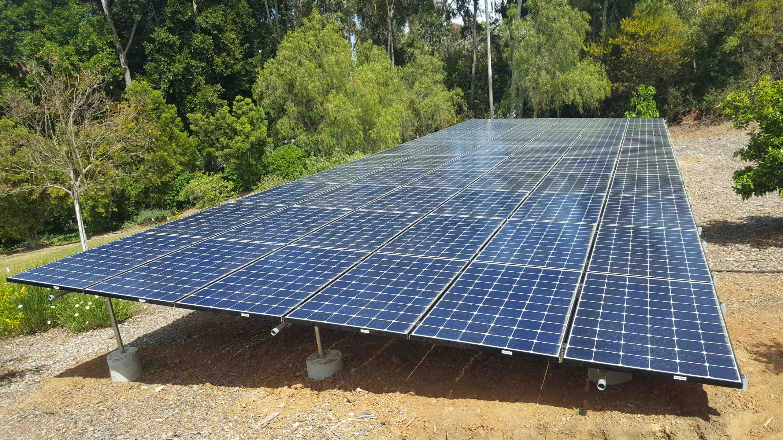 How much is the solar rebate in California?