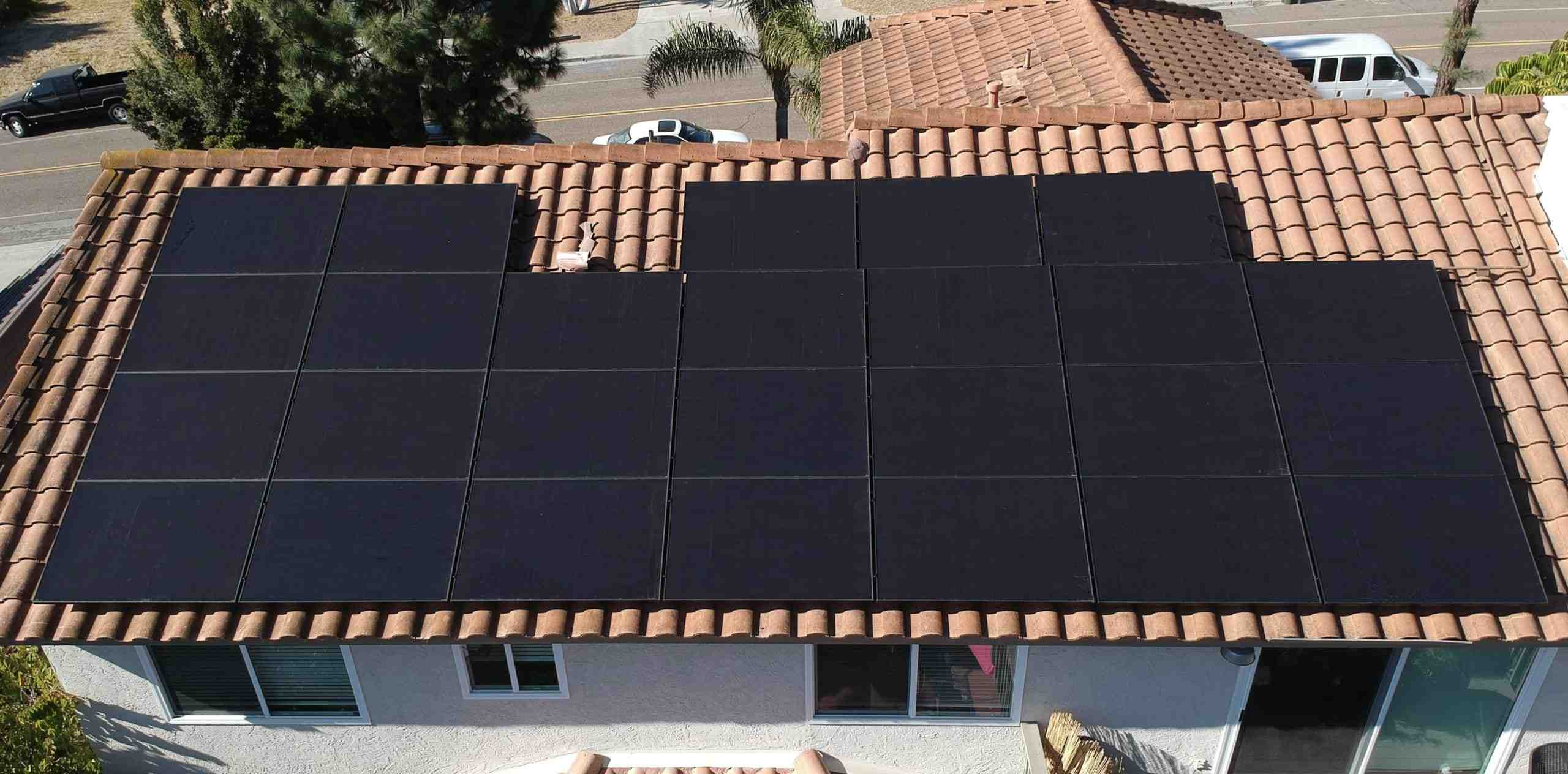 How much does a solar panel roof cost?